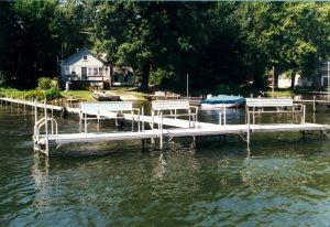 Metal Craft Residential Boat Docks in Chautauqua, NY