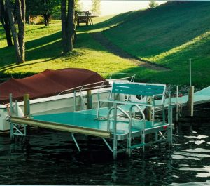 roaming shores boat docks by Metal Craft docks