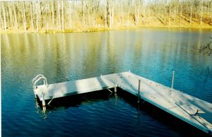Aluminum Boat Docks in Deer Lake, Ohio