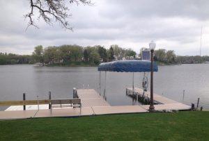 Cedar Lake Docks and Lifts by Metal Craft Docks