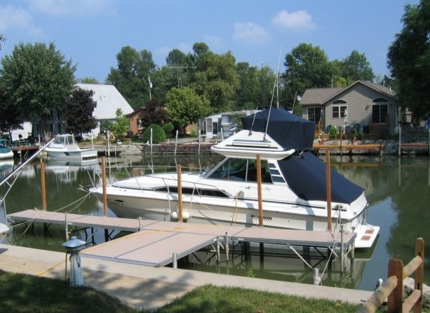 Marblehead Docks and Lifts by Metal Craft dock company in