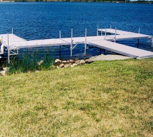 Metal Craft Metal Boat Docks on Cinnamon Lake, OH