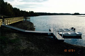 Plastic floating docks Ohio