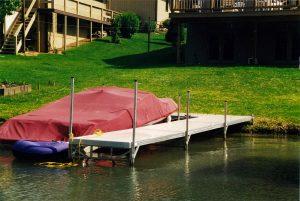 Apple Valley lake aluminum dock