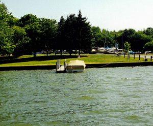 Mosquito Lake aluminum docks