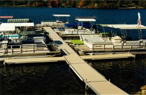 Marina dock systems Lake Buckhorn Ohio