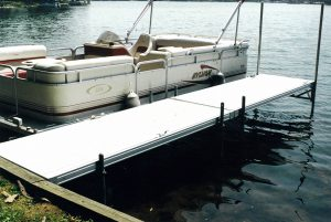 Small boat docks; Lake Cable Docks and Lifts
