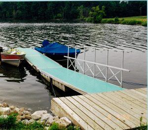 LaDue Reservoir Aluminum Floating Docks